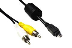 USB AV kabel til kamera