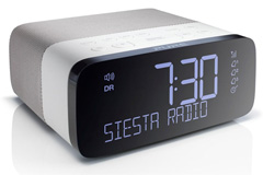 Clock radio and alarm clock