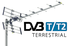 DVB-T Digital TV by antenna