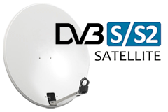 DVB-S Digital TV via parabol