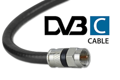 DVB-C Digital TV via kabel
