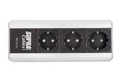 3-way power distributor for 230V