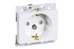 Power outlet for EU Schuko