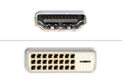 HDMI til DVI