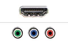 HDMI - Component video