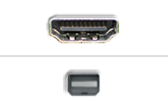 HDMI - Mini Displayport