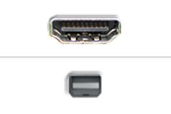 HDMI - Mini Displayport