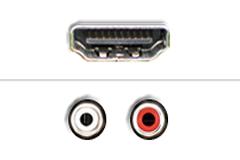 Phono RCA - HDMI