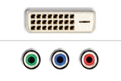 DVI - Komponent video