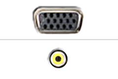 VGA - Komposit video