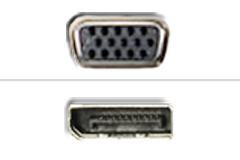 VGA – Displayport