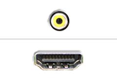 Komposit - HDMI
