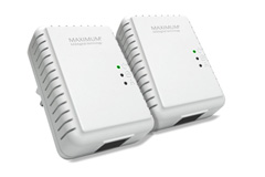 Network by powerline (homeplug)