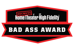 HomeCinemaHifi.com - Bad ass award