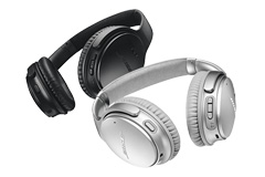 Wireless noise reduction headphones