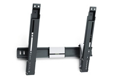Flat tiltable TV mount