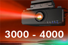 3000-4000 Lumens