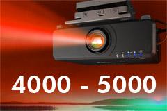 4000-5000 Lumens