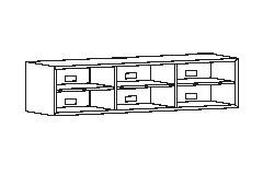 45 cm. dyb