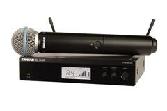 Shure trådløs mikrofon
