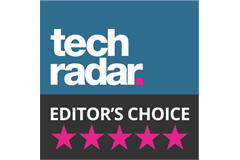 Techradar - Editors Choice