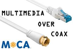 Netværk via koax antenne (MoCA)