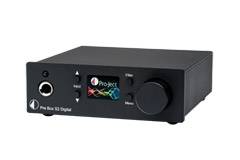 Pro-Ject Pre Box S2 Digital, black