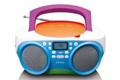 Transportabel højtaler til børn