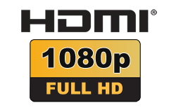 HDMI 1.4 - High Speed (up to 10.2 Gbit/s)