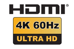 HDMI 2.0 - Premium High Speed (up til 18 Gbit/s)