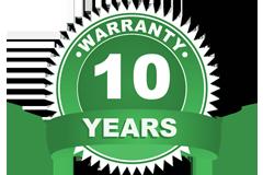 Waranty - 10 years