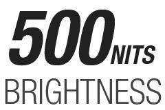 500 NITS
